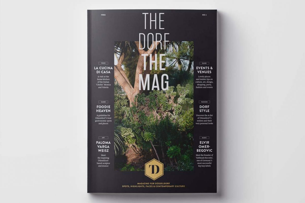 OUT NOW THE DORF • THE MAG 8 • THE DORF