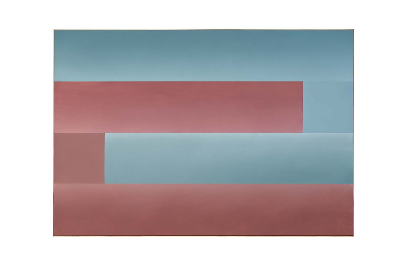 Ulrich Erben, o.T., 2020, 170 x 250 cm, Acryl, Pigments auf Leinwand, Galerie Hans Mayer